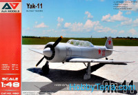Yak-11 military trainer aircraft