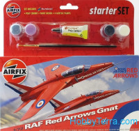 Starter Set. Red Arrows Gnat