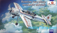 Su-29 Russian two-place aerobatic aircraft
