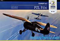 Fighter PZL P.11c (Expert Set)