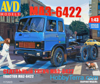 Tractor MAZ-6422, early