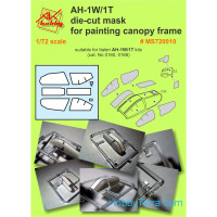 Mask 1/72 for AH-1W/1T, for Italeri kit