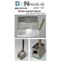 Detailing set 1/35 Oven wood stove