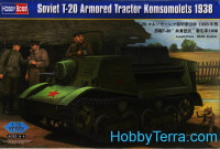 Soviet T-20 armored tractor