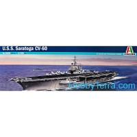 USS Saratoga CV-60 aircraft carrier