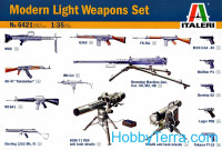Modern light weapons set