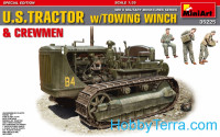 U.S.Tractor w/towing winch & crewmen. Special Edition