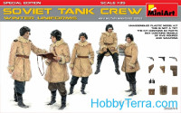 Soviet tank crew (winter uniforms). Special edition