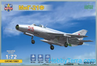 Mikoyan MiG-21F ground attack fighter