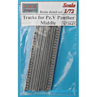 Tracks 1/72 for Pz.V Panther, middle type