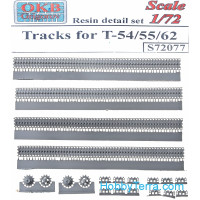 Tracks 1/72 for T-54/55/62 tanks