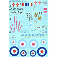 Decal 1/72 for Avro Vulcan, Part 1