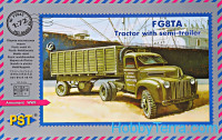 F G8TA tractor with semitrailer