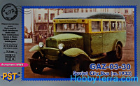 GAZ-03-30 Soviet city bus, 1933