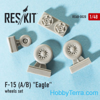 Wheels set 1/48 for F-15 (A/B) Eagle