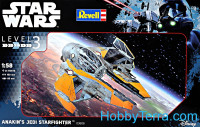 Star Wars. Anakin's Jedi starfighter