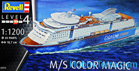 Ship M/S Color Magic. Level 4