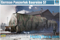 German armored locomotive Panzerlok BR57
