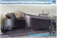 German Armored Train Panzertriebwagen Nr.16
