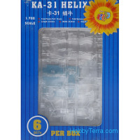 Helicopter Ka-31 Helix, 5pcs in box