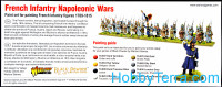 Vallejo  70164 Paint Wargames Set. French Infantry Napoleonic Wars, 8 pcs