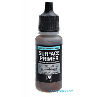 Leather brown Primer, 17 ml