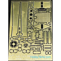 Photo-etched set 1/35 MB type 320 (W142) Saloon staff car, for ICM kit