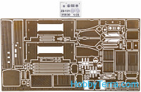 Photo-etched set 1/35 for Zil-131 truck, for ICM kit