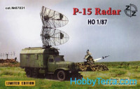 P-15 Soviet radar vehicle